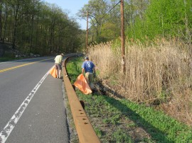 Roadside cleaning