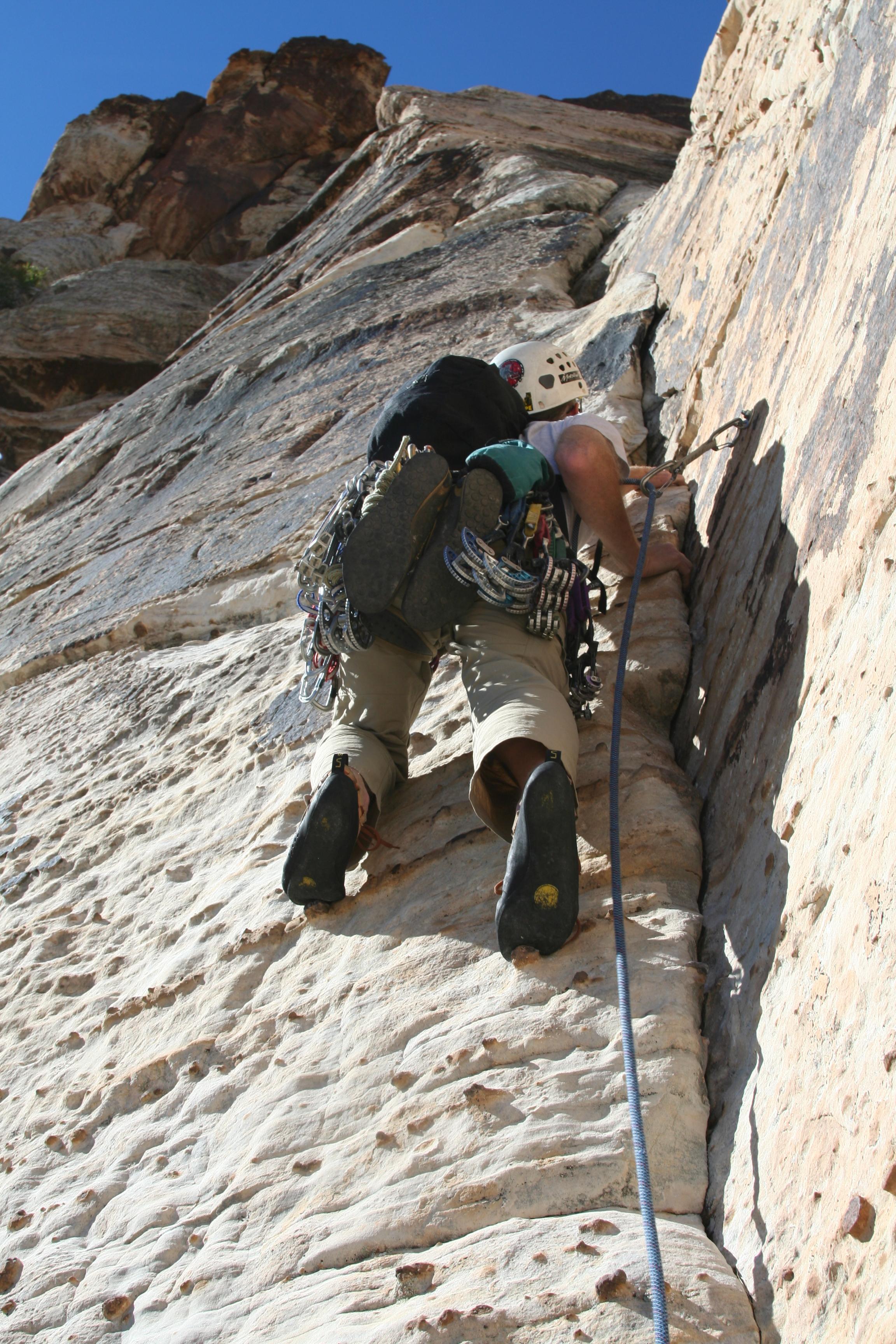 Acadia Mountain Guides Rock Climbing at Red Rock Canyon